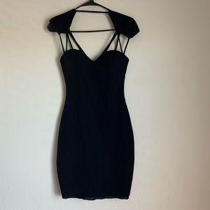 Black guess bodycon dress